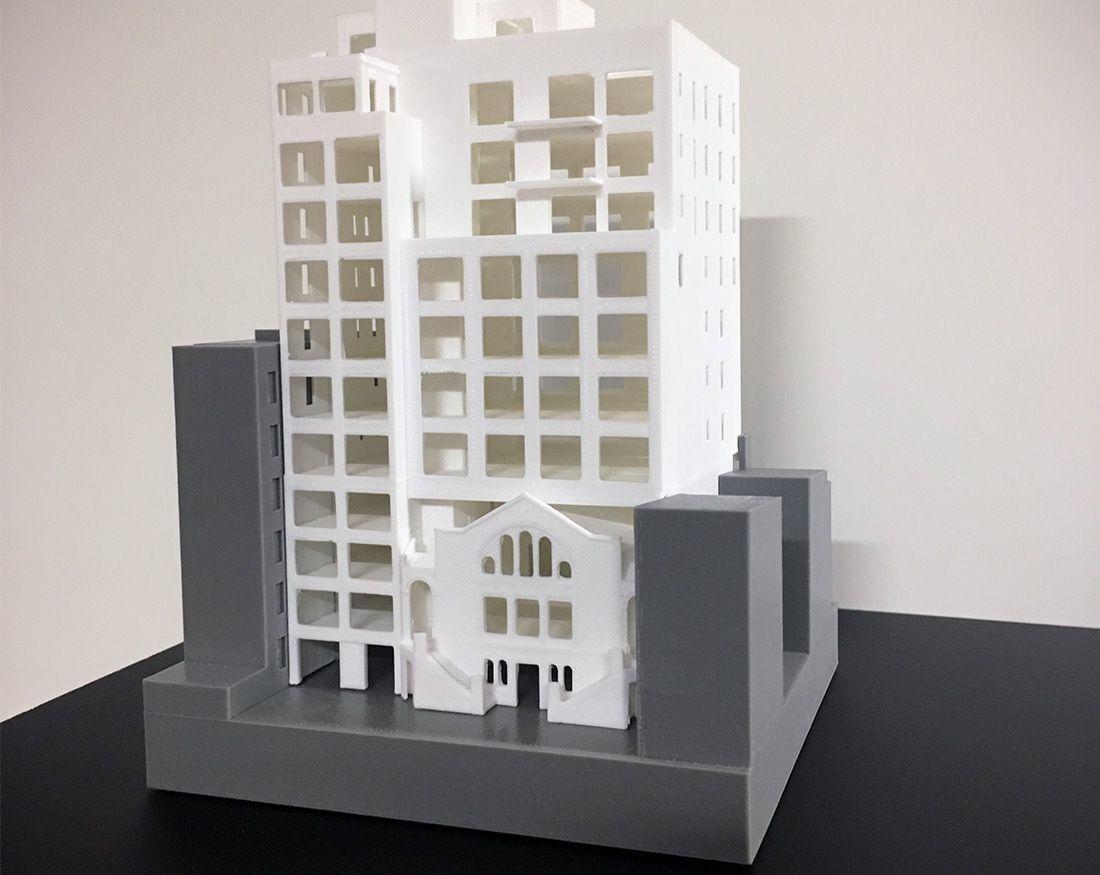 Einhorn Building Model Example One